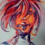 portrait 1 (acrylique sur toile - 2010)