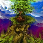 Mana tree (artrage - 2009)