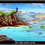 edge of the earth (huile sur bois - 2007)