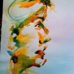 girlfriend (watercolor - 2010)