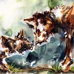i know (aquarelle + painter 9 - 2009)