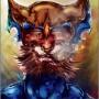 le serval (aqaurelle + painter - 2010)