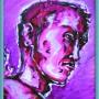 masakazu katsura (acrylique sur bristol - 2007)