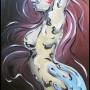 metal woman 1 (huile sur toile - 2007)
