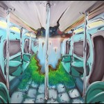 metro (huile sur toile  - 2007)
