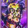 papa (acrylique sur bristol - 2007)