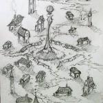place centrale (crayon hb - 2006)
