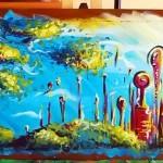 red city (acrylique - 2006)