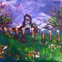 the church (acrylique - 2009)