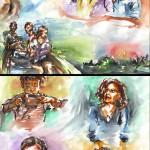 traveller's sketchs 5 (aquarelle - 2009)