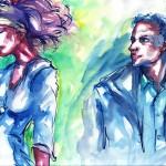 traveller's sketchs 8 (aquarelle - 2009)