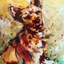 waf (watercolor - 2010) - portrait d'un animal de compagnie -