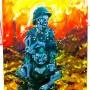 La grande vadrouille (acrylic on canvas - 2010)