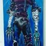 Edward scissors hands (acrylique sur toile 20 x 60cm - 2010)