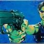 Matrix (acrylique sur toile 50 x 100cm - 2010)