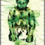 small hulk (encre et aquarelle - 2011)