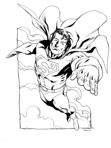 superman par Robert Atkins