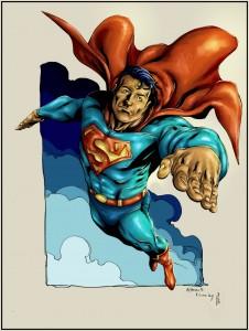superman par Robert Atkins, colo par Toubab