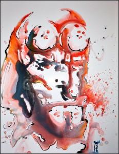 anung un rama (aquarelle sur carton plume - 50x65 cm)