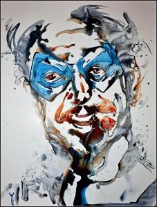 edward blake (aquarelle sur carton plume - 50x65 cm)
