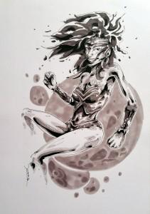 Wonder Woman - feutres à alcool format A4 - 30€