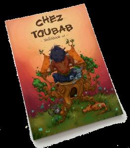 Sketchbook 1 - chez Toubab