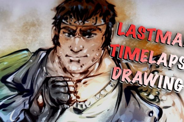 Lastman – timelapse drawing