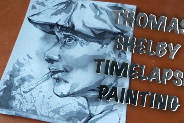 Thomas Shelby – Timelapse painting