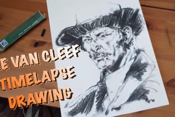 Lee Van Cleef – Timelapse portrait