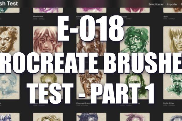 EO18 – Procreate Brushes Test – part 1
