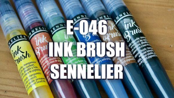 E046 – Ink Brush Sennelier