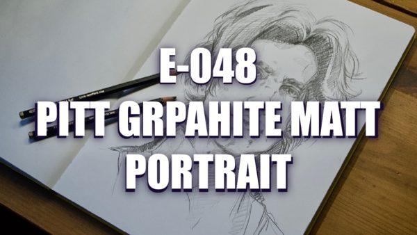 E048 – Pitt Graphite Matt Portrait