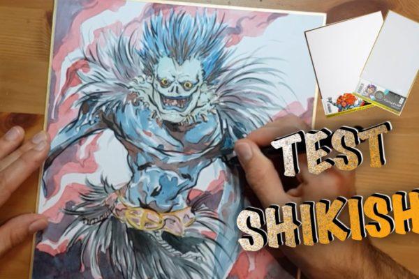 Test : le Shikishi