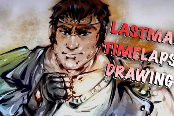 Lastman – timelapse drawing