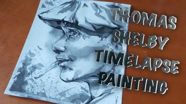 Thomas Shelby – Timelapse painting