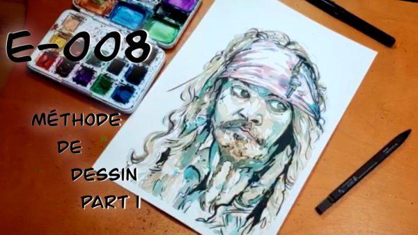 E008 – méthode de dessin part 1