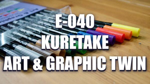 E040 – Kuretake Art & Graphic Twin