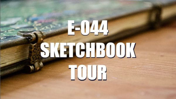E044 – Sketchbook tour