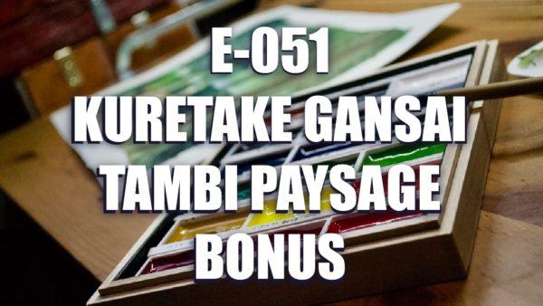 E051 – Kuretake Gansai Tambi Paysage Bonus